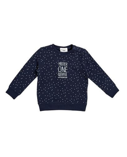 Sweater mit Allover-Print